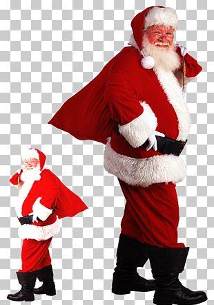 Santa Claus Mrs. Claus Père Noël Christmas Gift PNG