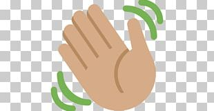 Wave Human Skin Color Hand Thumb Gesture PNG