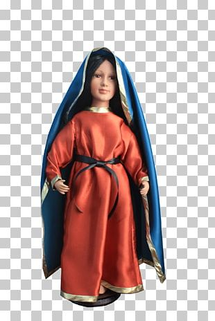 Mary Our Lady Of Guadalupe Robe Doll Marian Apparition PNG