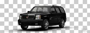 Tire Cadillac Escalade Compact Car Bumper Automotive Lighting PNG