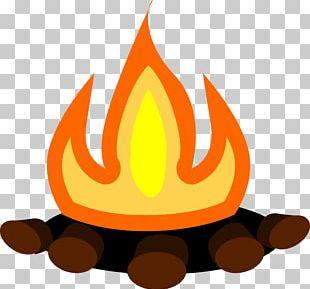 Campfire Bonfire Camping S'more PNG
