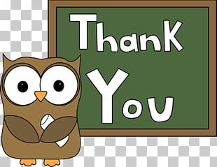 Thank You Kid Owl PNG