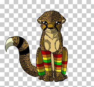 Cheetah Cartoon Illustration PNG