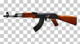 AK-47 Firearm Weapon PNG