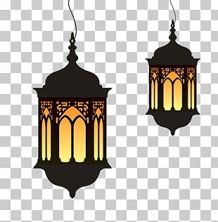 Ramadan Eid Al-Fitr Lantern PNG