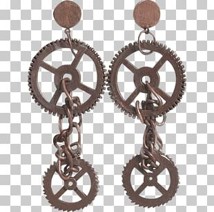 Earring Jewellery Steampunk Clothing Accessories Costume PNG