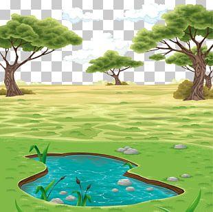 Landscape Drawing PNG