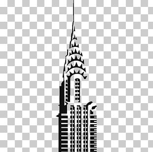 Chrysler Building Empire State Building Drawing PNG