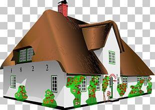 Cottage Log Cabin House PNG