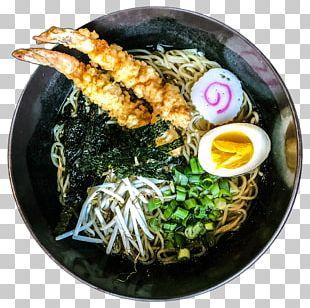 Ramen Soba Japanese Cuisine Tempura Lamian PNG