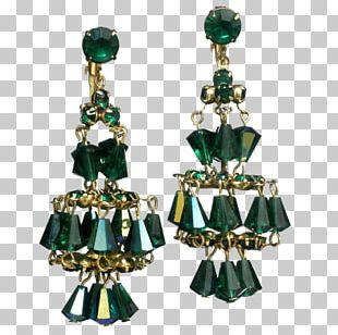 Emerald Earring Jewellery Costume Jewelry Designer PNG