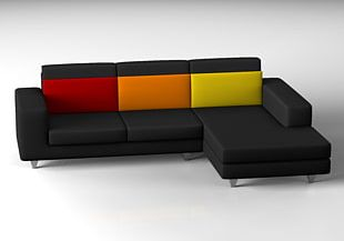 Table Couch Furniture Living Room PNG