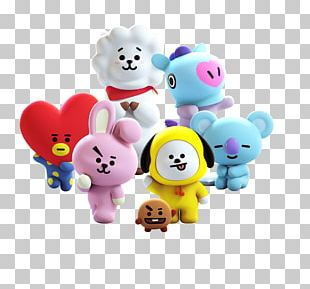BTS Seoul Line Friends Love Yourself: Her Pillow PNG