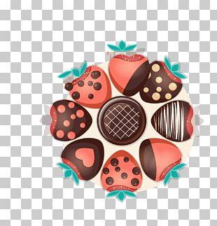 Chocolate Cake Bonbon Strawberry Chocolate Syrup PNG