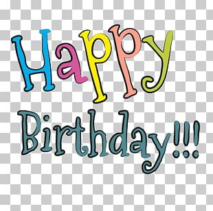 Happy Birthday To You Font PNG