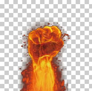 Flame Fist PNG
