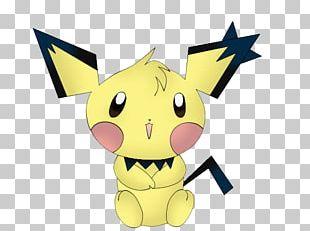 Pikachu Pichu Pokémon PNG