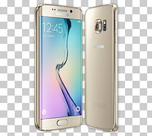 Samsung Galaxy S6 Edge 4G Smartphone Android PNG