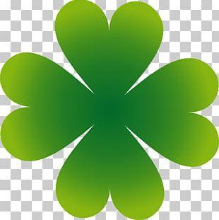 Shamrock Four-leaf Clover Luck PNG