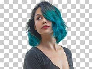 Black Hair Hair Coloring Bangs Long Hair PNG