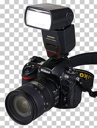 Digital SLR Flash Camera Photography PNG