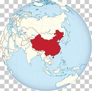 Globe World Map China Earth PNG