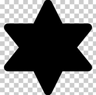 Star Of David Symbol Yellow Badge Jewish People PNG