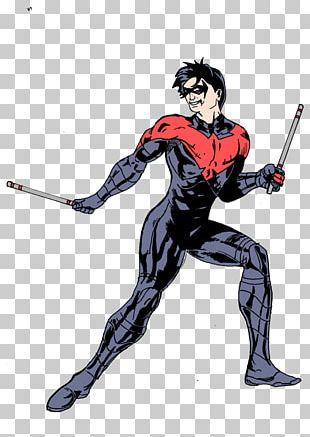 Nightwing Batman Superhero The New 52 Desktop PNG