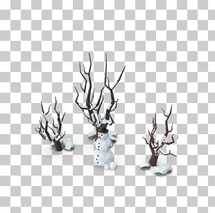 Snowman Low Poly Christmas PNG