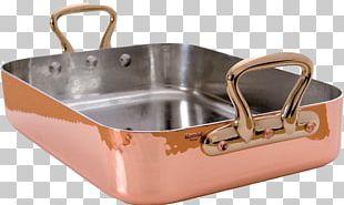 Roasting Pan Cookware Cooking Bronze PNG