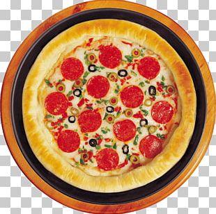 Sicilian Pizza Take-out Italian Cuisine Pepperoni PNG