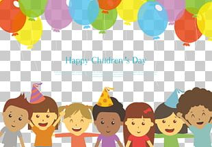 Children's Day Holiday Illustration PNG