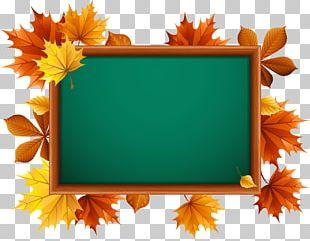 School Supplies Blackboard PNG