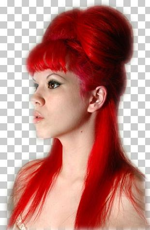 Human Hair Color Raspberry Red Capelli PNG
