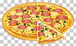 Sicilian Pizza Italian Cuisine Fast Food PNG