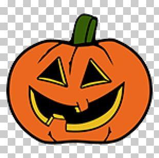 Cucurbita Pumpkin Halloween Ausmalbild PNG