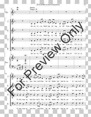Sheet Music J.W. Pepper & Son SATB Accompaniment PNG