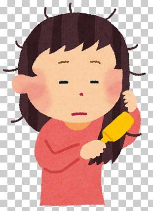 寝癖 Capelli Comb Woman Ahoge PNG