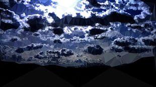 Sky Desktop Cloud Moonlight PNG
