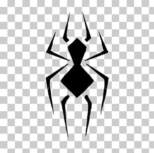 Spider-Man Logo Graphic Design PNG