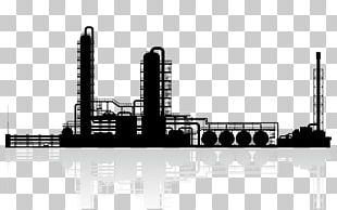Oil Refinery Petroleum Chemical Plant PNG