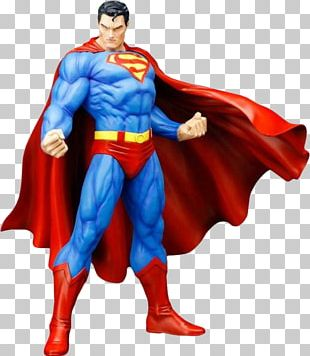 Superman Batman For Tomorrow The New 52 Statue PNG