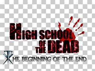 Highschool Of The Dead Logo Anime News Network Manga PNG
