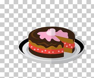 Chocolate Cake Cheesecake Cream Ganache Panna Cotta PNG