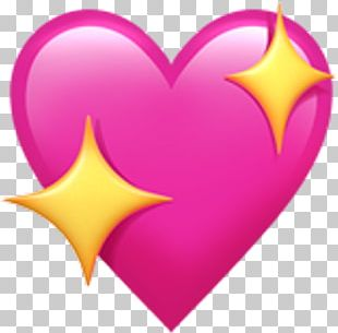 Emoji Heart Sticker Symbol Love PNG