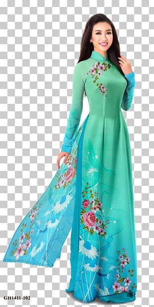 Áo Dài Vietnam Clothing Folk Costume Dress PNG