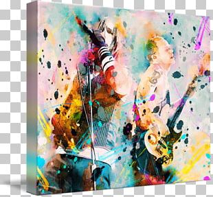 Red Hot Chili Peppers Chili Con Carne Painting Art Canvas Print PNG