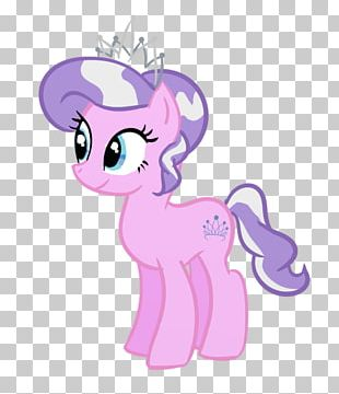 Tiara Diamond Crown Purple PNG
