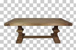 Trestle Table Dining Room Coffee Tables Furniture PNG
