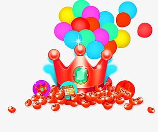 Crown Balloon PNG